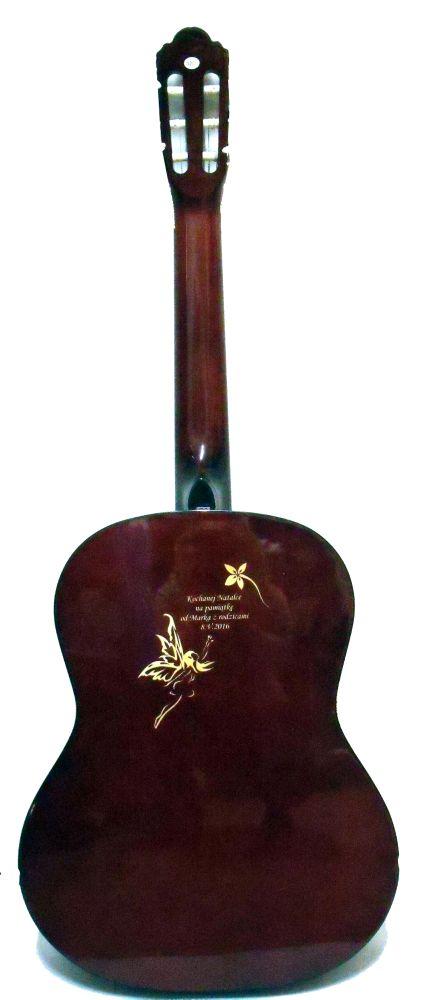 Gitara z dedycją