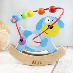 Znakowanie drewnianych zabawek