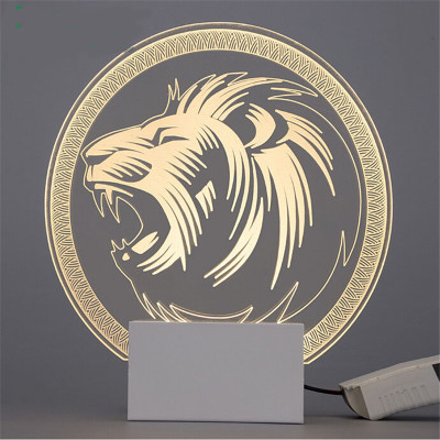New-Simple-LED-Wall-Lamp-Living-Room-Stairs-Bedroom-Den-Wall-Sconce-Acrylic-Laser-Engraving-Creative