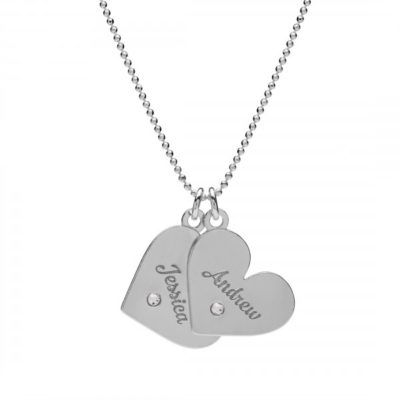 double-heart-necklace-with-crystal-and-engraving-silver-925-rhodium-or-gold-plated